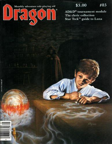 Dragon Magazine, Issue 85