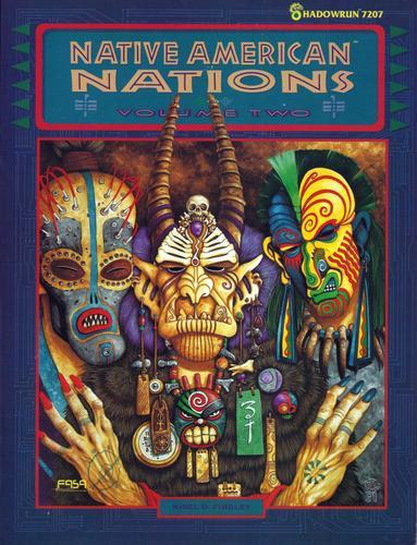 Native American Nations, Volume 2 (Shadowrun)