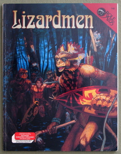 Lizardmen (Advanced Dungeons & Dragons: Role Aids), William Tracy