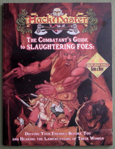 The Combatant's Guide to Slaughtering Foes (HackMaster)
