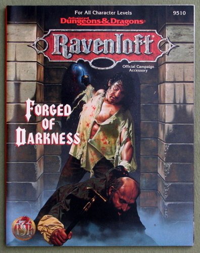 Forged of Darkness (Advanced Dungeons & Dragons: Ravenloft), William W. Connors