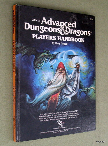 Players Handbook (Advanced Dungeons & Dragons, 1st Edition Revised) - PLAY COPY, Gary Gygax