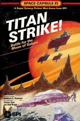 Titan Strike: Battle for the Moon of Saturn (Space Capsule #3)