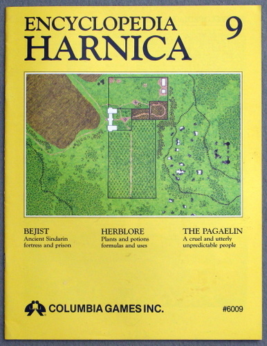 Encyclopedia Harnica 9 (Harn Fantasy RPG Setting)