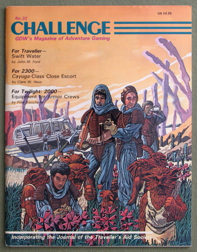Challenge Magazine, Issue 32
