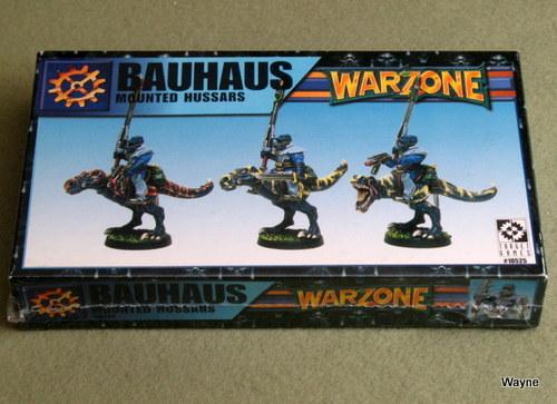 Warzone: Bauhaus Mounted Hussars