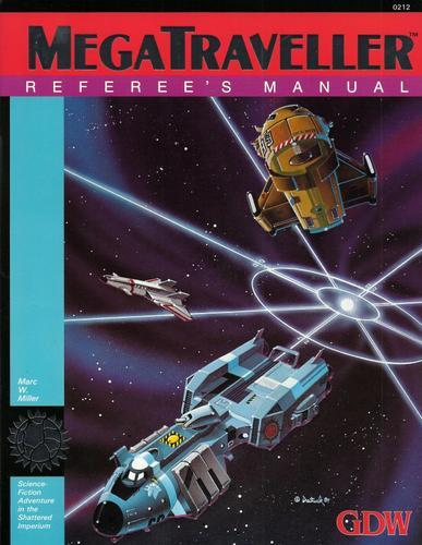 MegaTraveller: Referee's Manual, Marc W. Miller