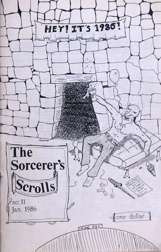 The Sorcerer's Scrolls #11 (Jan. 1986)