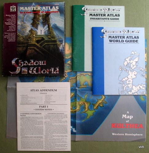 Shadow World: Master Atlas