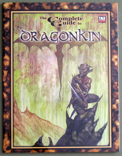 The Complete Guide to Dragonkin (D20 System), Bret Boyd