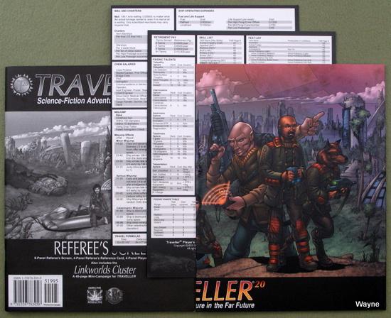 Traveller 20 Referee's Screen