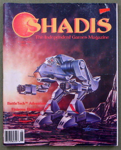 Shadis: Independent Games Magazine, Issue 12 (Mar/Apr 1994)