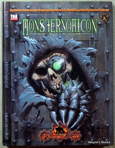 Monsternomicon, Vol. 1: Denizens of the Iron Kingdoms (Privateer Press d20)