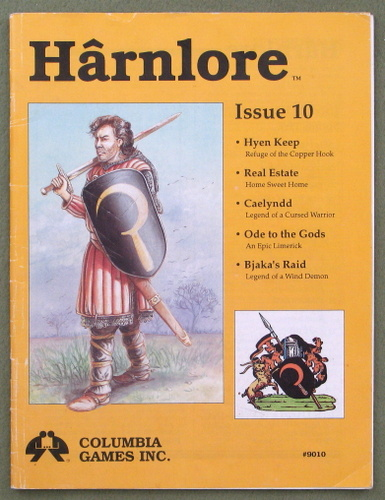 Harnlore, Issue 10 (Harn Fantasy System)