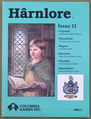 Harnlore, Issue 11 (Harn Fantasy System)