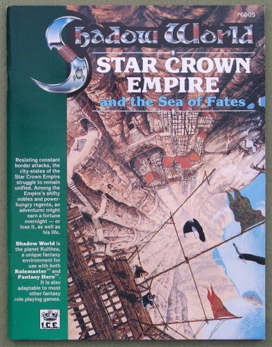 Star Crown Empire and the Sea of Fates (Rolemaster/Shadow World)