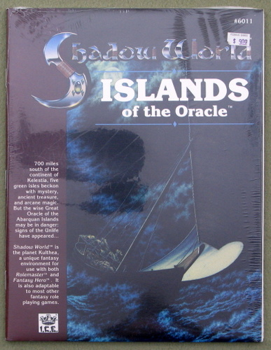 Islands of the Oracle (Rolemaster / Shadow World), John Crowdis