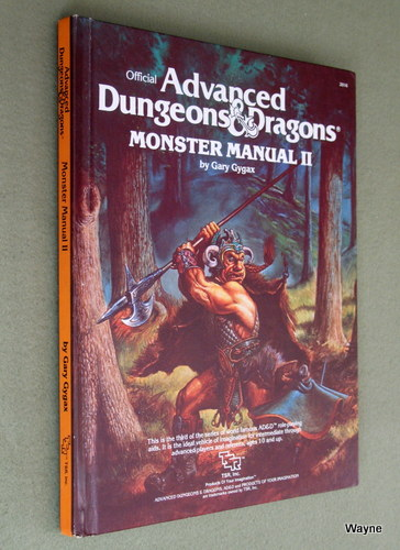 Monster Manual II [2] (Advanced Dungeons & Dragons), Gary Gygax