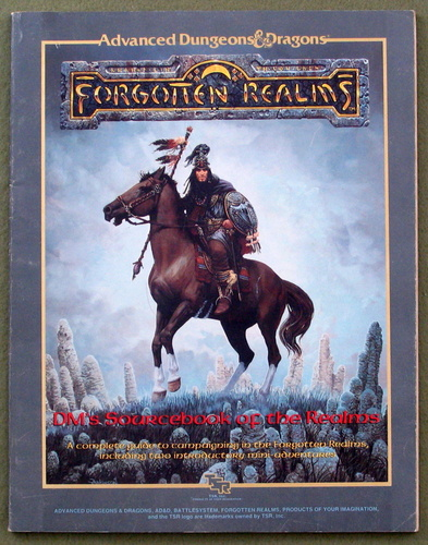 DM's Sourcebook of the Realms (Advanced Dungeons & Dragons: Forgotten Realms), Ed Greenwood & Jeff Grubb