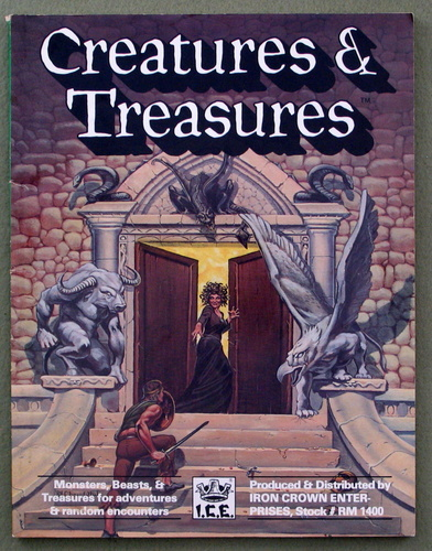 Creatures and Treasures (Rolemaster)