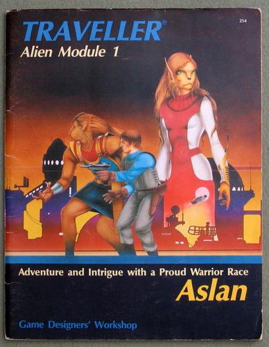 Aslan (Traveller Alien Module 1), J. Andrew Keith & Marc Miller