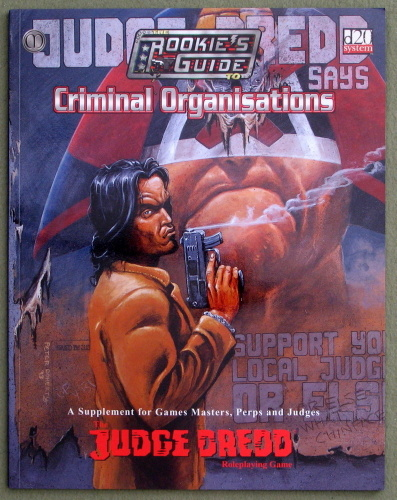 Judge Dredd: Rookies Guide To Criminal Organizations, Matthew Sprange
