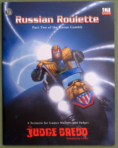 Judge Dredd: Russian Roulette (The Kazan Gambit Trilogy #2)