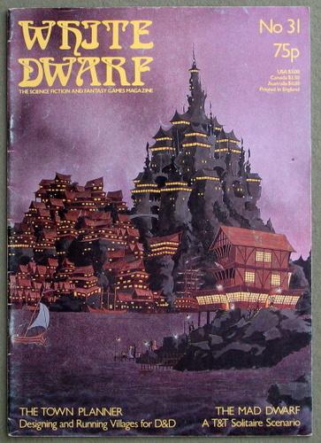 White Dwarf Magazine, Issue 31