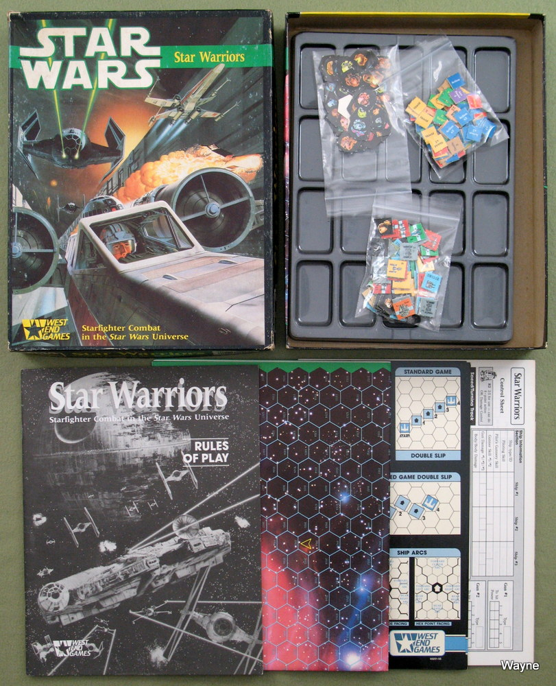 Star Warriors: Starfighter Combat in the Star Wars Universe
