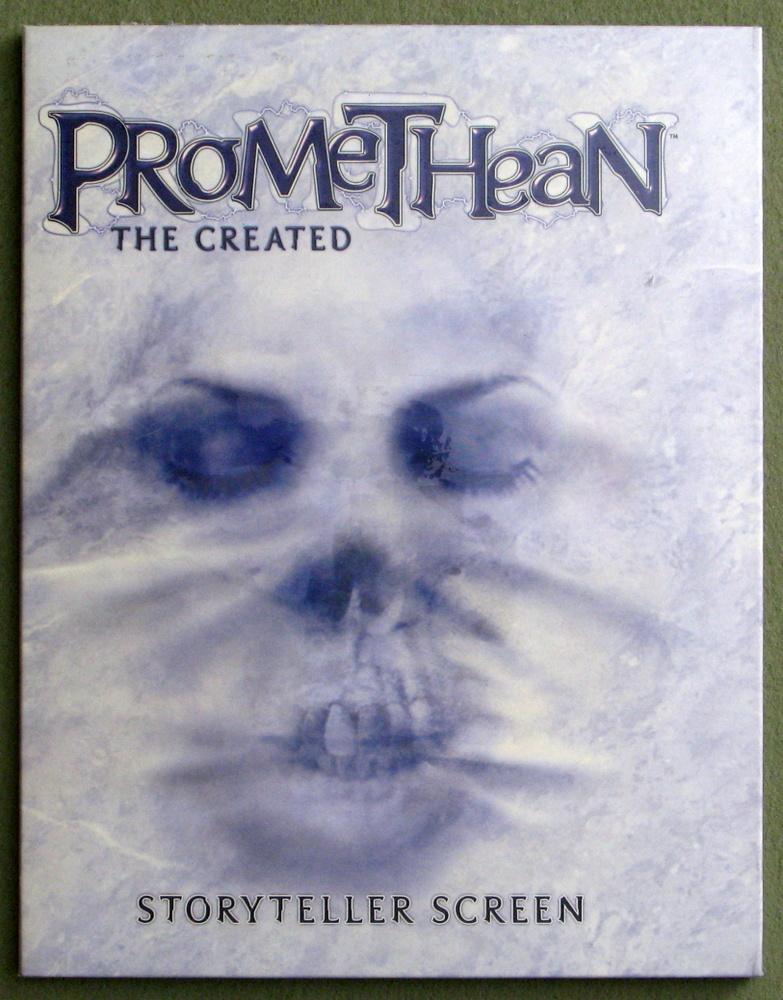 Promethean: The Created - Storyteller Screen
