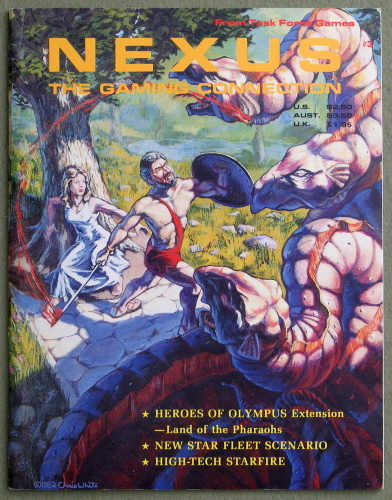 Nexus: The Gaming Connection #3 (Aug/Sept 1982)
