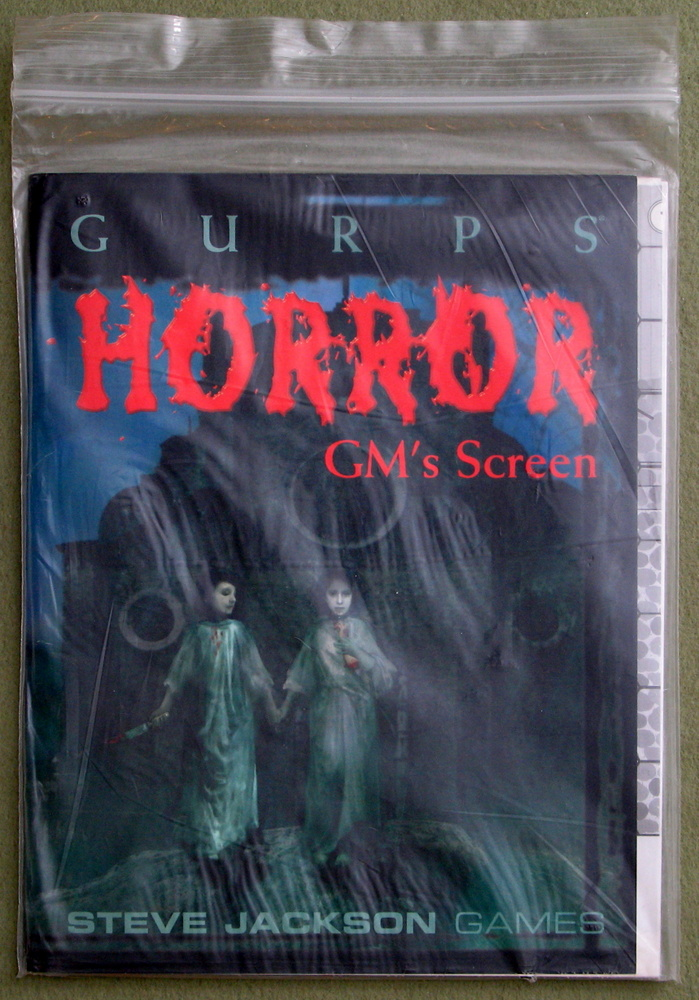 GURPS Horror GM's Screen