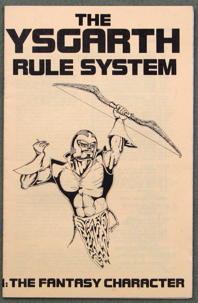 Ysgarth Rule System, Book 1: The Fantasy Character