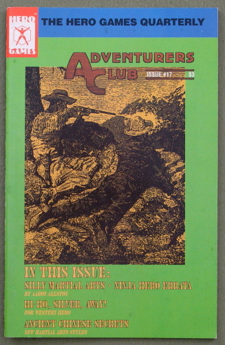 Adventurers Club: The Hero Games Quarterly #17 (Summer 1991)