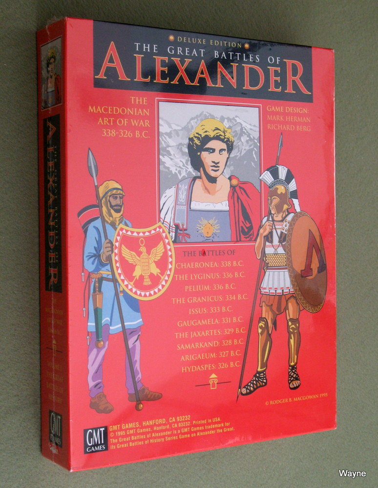 The Great Battles of Alexander: Deluxe 1995 edition