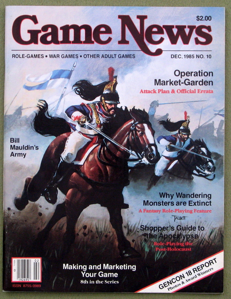 Game News Magazine, Issue 10 (December 1985)