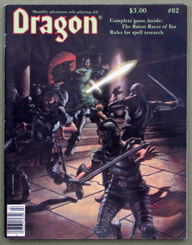 Dragon Magazine, Issue 82