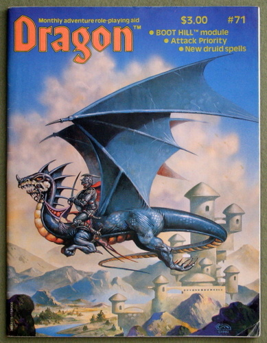 Dragon Magazine, Issue 71