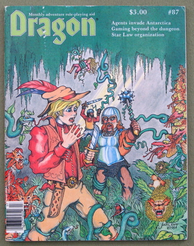 Dragon Magazine, Issue 87