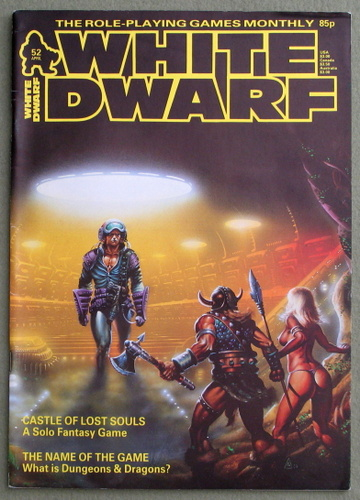 White Dwarf Magazine, Issue 52