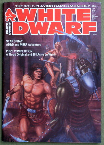 White Dwarf Magazine, Issue 73