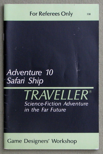 Traveller Adventure 10: Safari Ship, Marc Miller