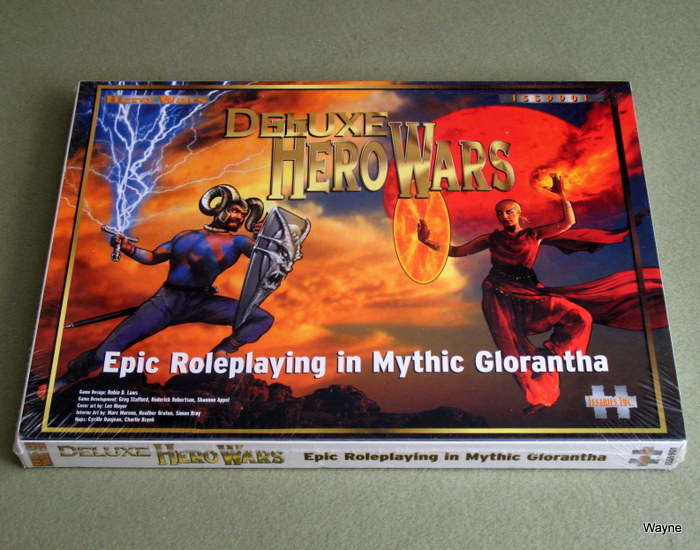 Deluxe Hero Wars: Epic Roleplaying in Mythic Glorantha