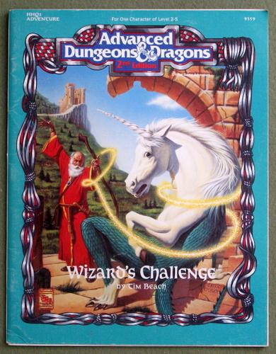 Wizard's Challenge (Advanced Dungeons & Dragons, 2nd Edition Module HHQ2), Tim Beach