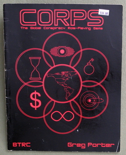 CORPS : The Global Conspiracy Role-Playing Game