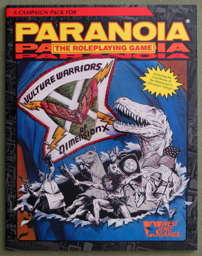 Vulture Warriors of Dimension X (Paranoia Roleplaying Game), Joseph Anthony & David Avallone