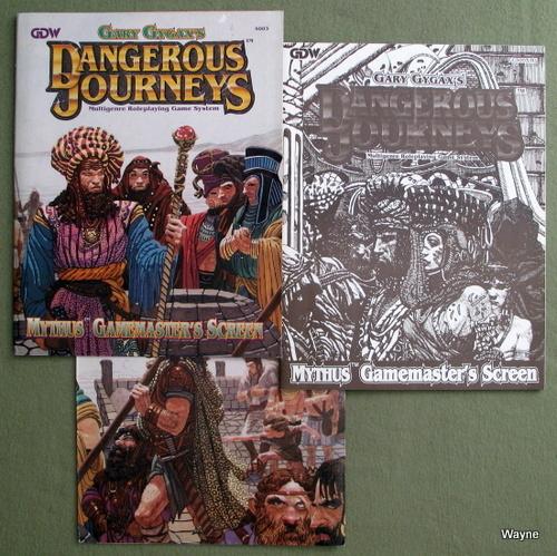 Dangerous Journeys Mythus Gamemasters Screen