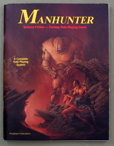 Manhunter: Science Fiction - Fantasy Role Playing Game