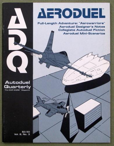 Autoduel Quarterly/ADQ: Vol. 8, No. 3 (Car Wars)