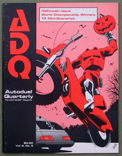 Autoduel Quarterly/ADQ: Vol. 9, No. 3 (Car Wars)